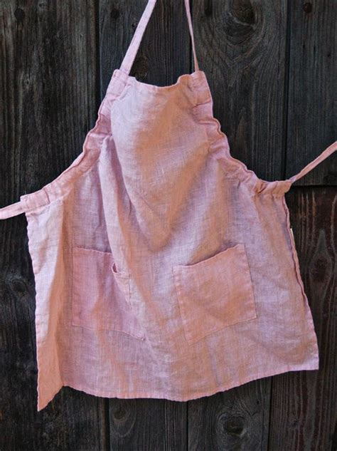 pattern for simple apron linen day linen apron quot like mother like daughter