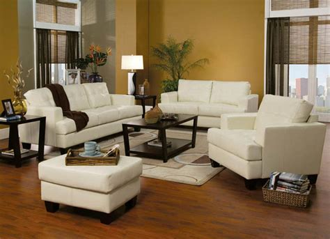 Houzz Living Room Furniture | contemporary modern leather upholstered living room sofa