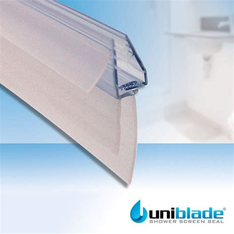 bath shower screen seal uniblade bath shower screen seal uniblade 1