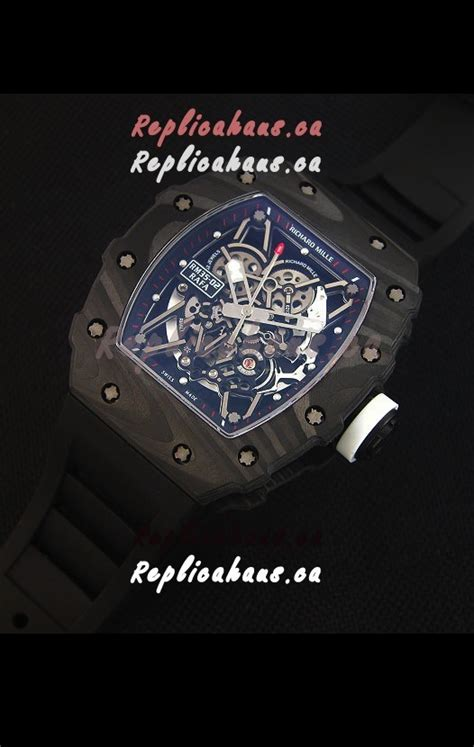 Richard Mille Rm035 Rafael Nadal Canvas Swiss Clone 11 richard mille rm035 2 rafael nadal forged carbon with white crown