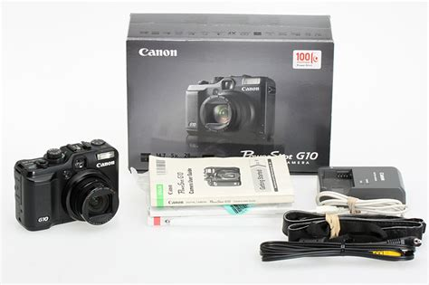 canon g10 sold wts canon g10 prosumer digital box set