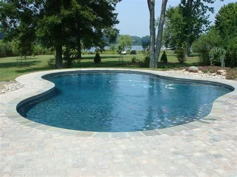 simple pool designs simple is sometimes better a basic pool shape will