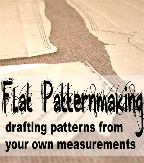pattern making free online course new online course flat patternmaking how to draft sewing