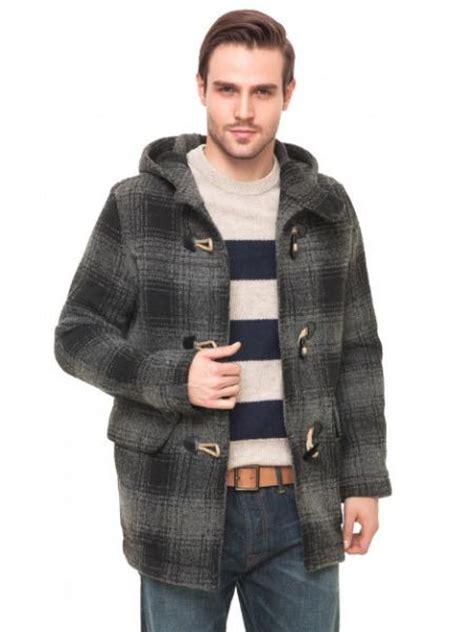 Gap Yellow Duffle Jacket gap xs nwt s grey plaid wool duffle toggle hooded jacket coat xs
