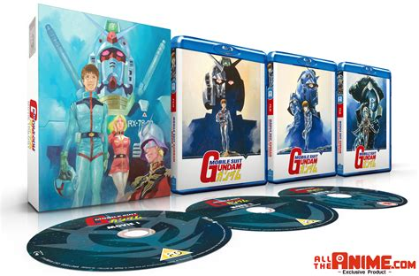 mobile anime alltheanime exclusive mobile suit gundam trilogy