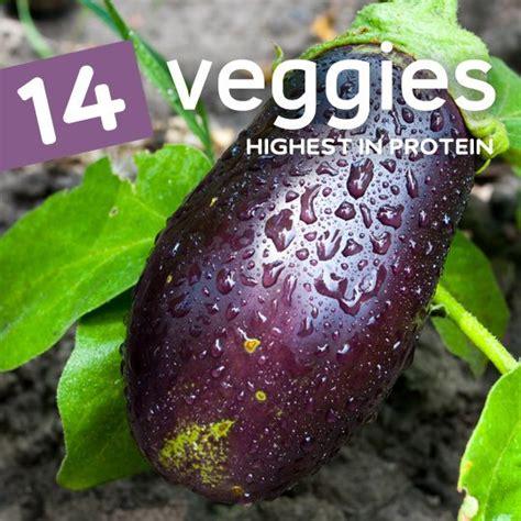 vegetables protein amount 14 vegetables highest in protein