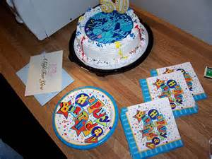 what birthday party would be complete without a blue s clues ice cream cake flickr photo