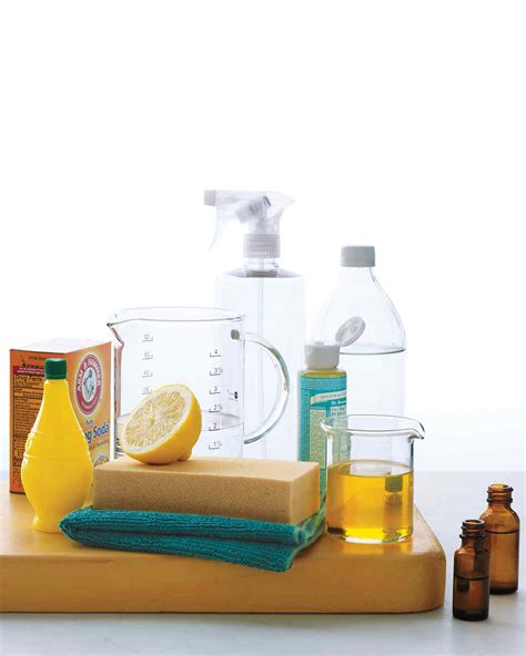 natural cleaning recipes bathroom clean green natural cleaning products martha stewart