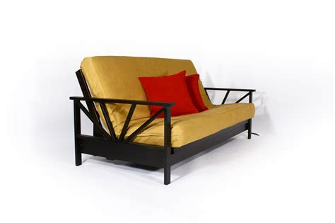 black wood futon frame black wood futon frame