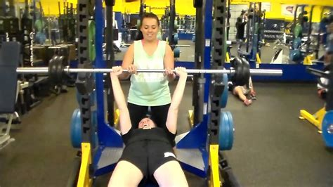 1rm bench press test 1rm bench press test video tutorial youtube