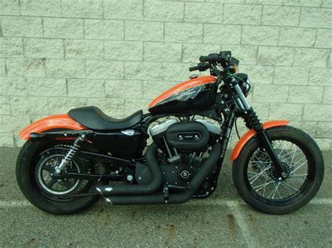 Harley Davidson Hd011 Black Orange 2009 harley sportster nightster xl1200n in orange and black um30319 jbb