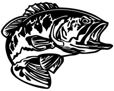 bass boat decals stickers bass decal md5 vinyl fishing boat sticker wildlife decal