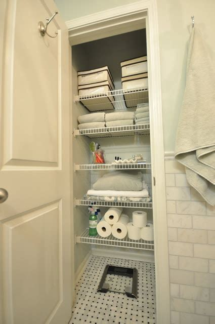 organizing bathroom closet bathroom closet organization pinterest