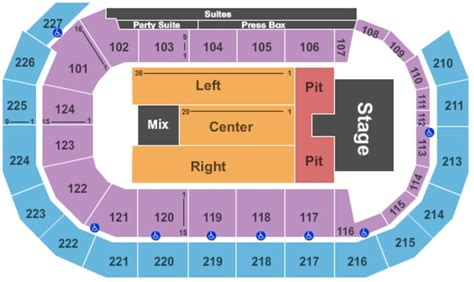 amsoil arena seating map amsoil arena tickets in duluth minnesota amsoil arena