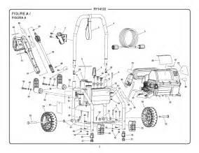 ryobi ry14122 electric pressure washer