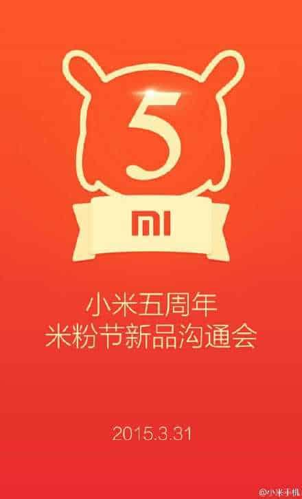 xiaomi  turn  years   announce   gen mi pad tablet  march st