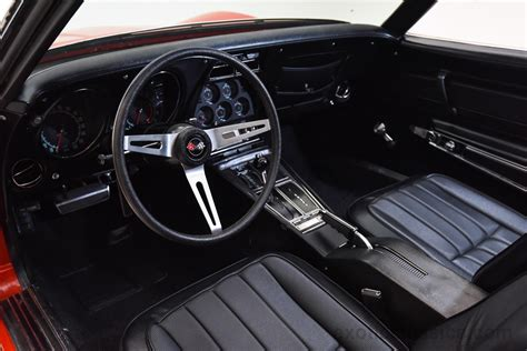 1970 corvette interior 1970 chevrolet corvette stingray c3 convertible classic