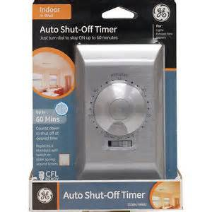 ge 60 minute countdown timer switch auto shut single