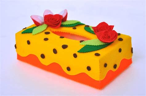 Tempat Tisu kotak tissue flanel cake ideas and designs