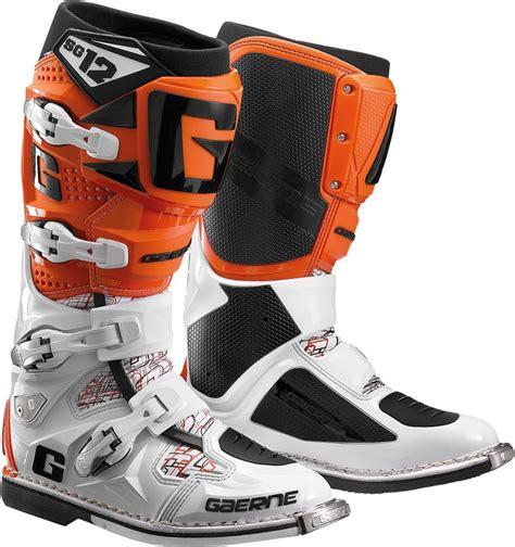 gaerne sg12 motocross boots 629 95 gaerne mens sg 12 sg12 motocross boots 260187