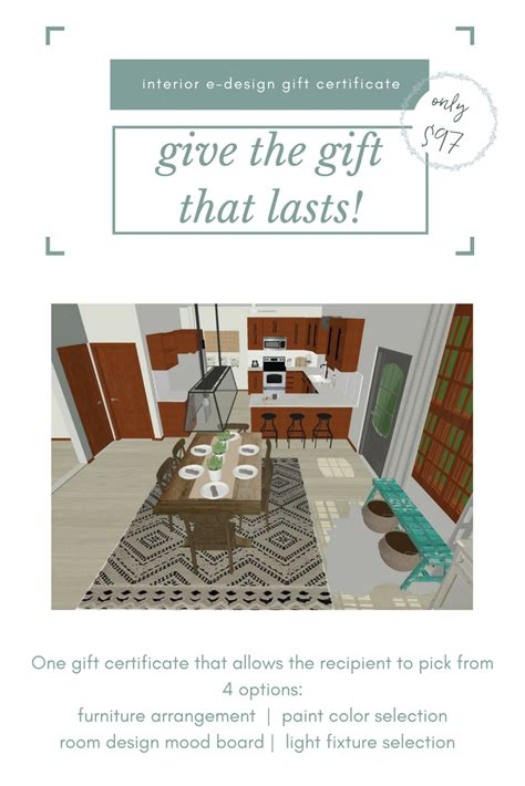 interior design gift certificate give an interior e design gift certificate for birthdays