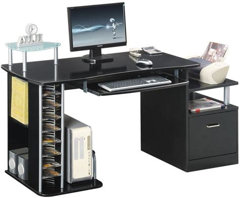 Large Black Computer Desk 1000 Ideas About Large Computer Desk On Pinterest Computer Armoire Oak Tv Cabinet And Office