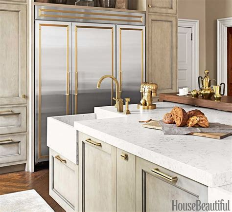 the right mix of feminine and masculine kitchens