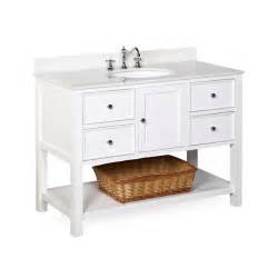 kitchen bath collection new yorker 48 quot single bathroom vanity set by kitchen bath