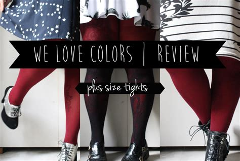 we colors tights review giveaway plus size tights we colors