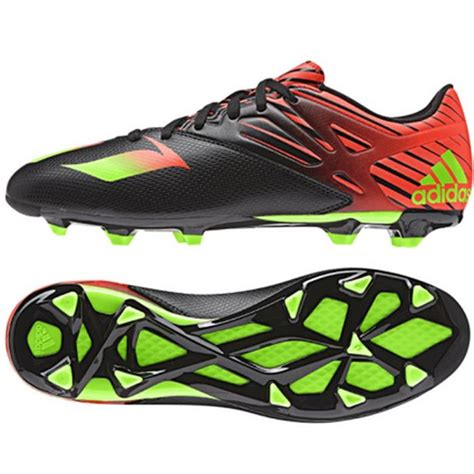 green football shoes adidas messi 15 3 fg ag s soccer cleats football shoes