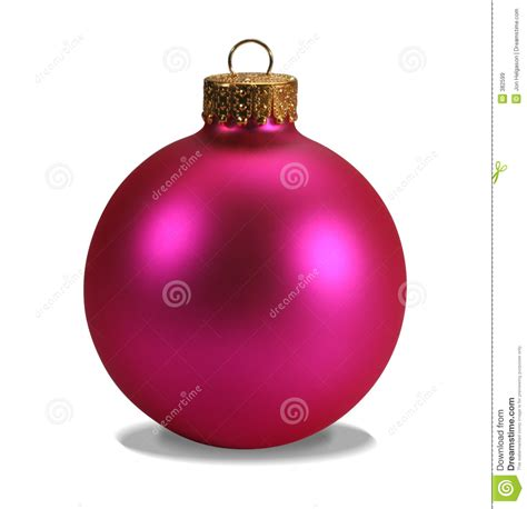 pink ornament with clipping path stock image image 382599