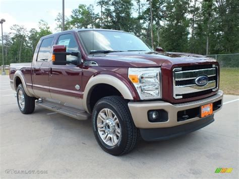 Ford F250 King Ranch by 2012 Autumn Metallic Ford F250 Duty King Ranch