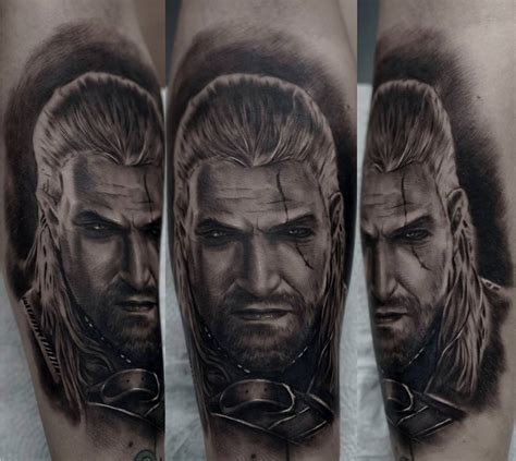witcher tattoo the witcher best ideas gallery