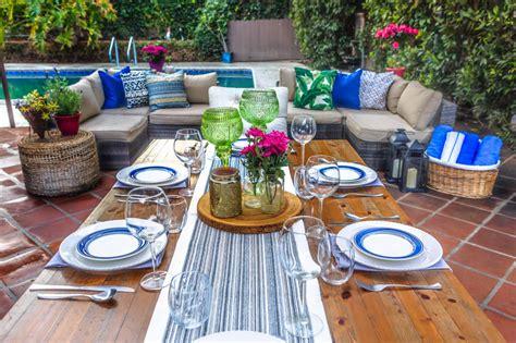 dinner entertainment ideas 8 budget friendly diys for your deck or patio hgtv s