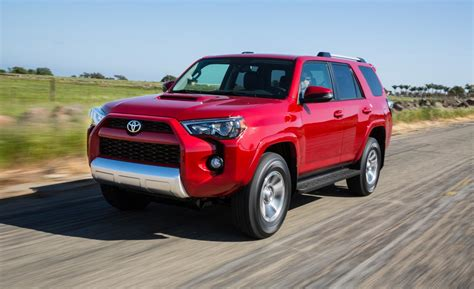 2014 Toyota 4runner Trail Car And Driver