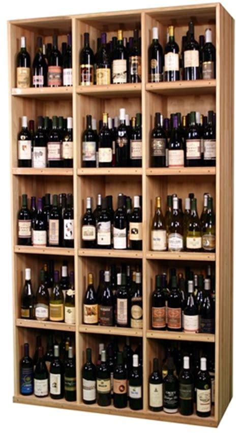 Wine Cellar Rack - adjustable shelf wine display cabinet commercial wine rack