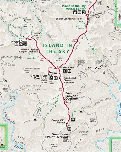 canyonlands national park map canyonlands map adriftskateshop