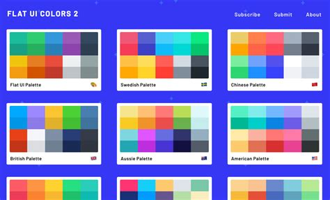 flat color flat ui colors 2 13 countries 13 designers 13 more