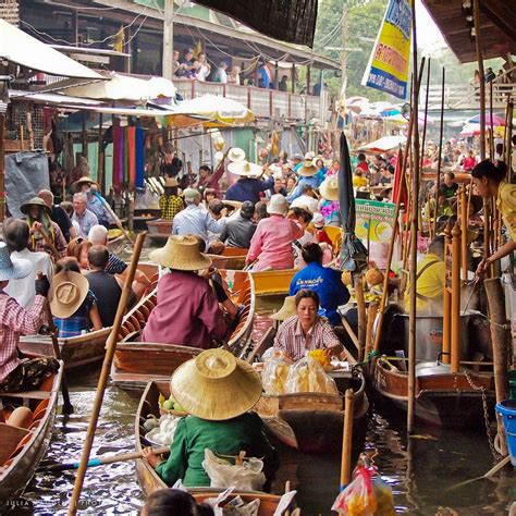 floating boat market floating markets of southeast asia amusing planet