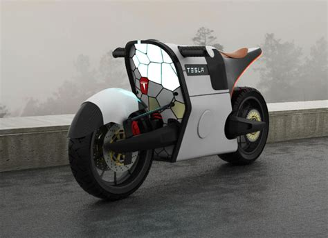 tesla concept motorcycle proposed tesla e bike design concept by serrano
