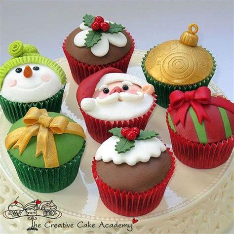 decorar cupcakes cupcakes decorados navidad imagui