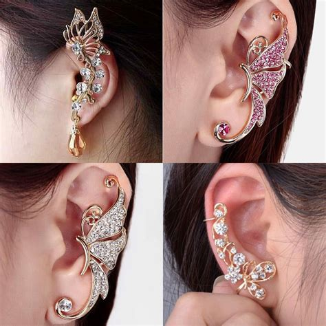 fashion sweet ear cuffs clip on cartilage