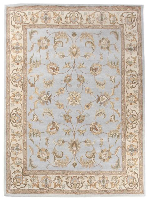area rug 8x10 large new traditional handmade wool 8x10 area rug carpet blue
