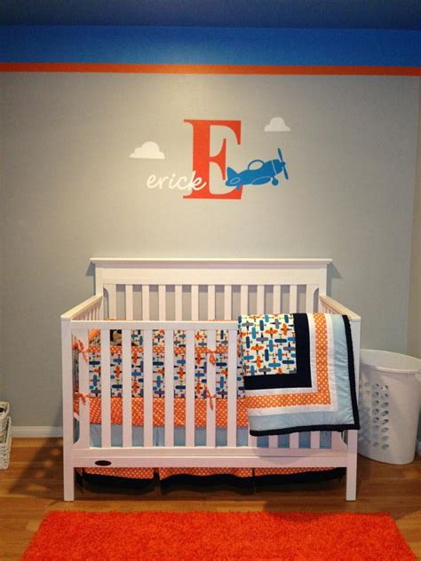 Aviation Nursery Decor Airplane Nursery Project Nursery