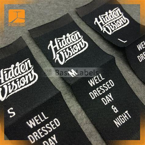 Handmade Labels For Clothing - 300 custom woven labels clothing labels custom woven