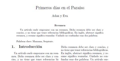 Resumen Y Abstract by Aprendiendo C 243 Mo Escribir Un 237 Culo De Dos