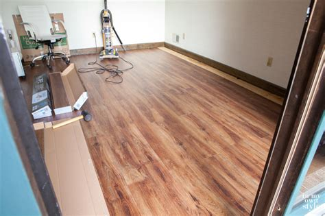 nucore flooring in studioffice in own style