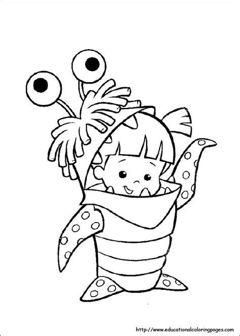 monster coloring pages preschool monster inc coloring educational fun kids coloring pages