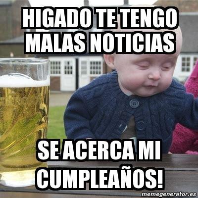 imagenes memes borracheras meme drunk baby higado te tengo malas noticias se acerca