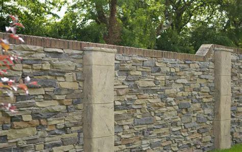 stone facing retaining walls made easy eazyclad stone cladding
